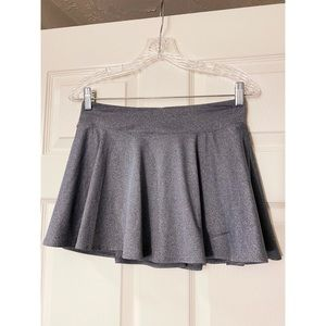 Nike Dri-Fit Gray Athletic Skater Shorts Skirt